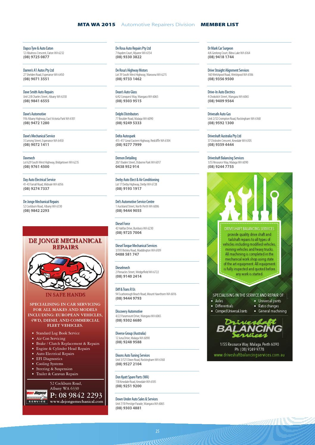 2015 MTA WA Members eDirectory by arkmedia4217 - issuu