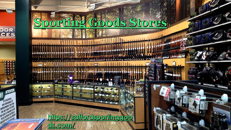 Sporting goods stores by AndrewBurnette - Issuu