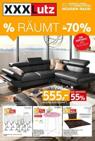 xxxlutz angebote dezember 4 by alle angebote issuu. Black Bedroom Furniture Sets. Home Design Ideas
