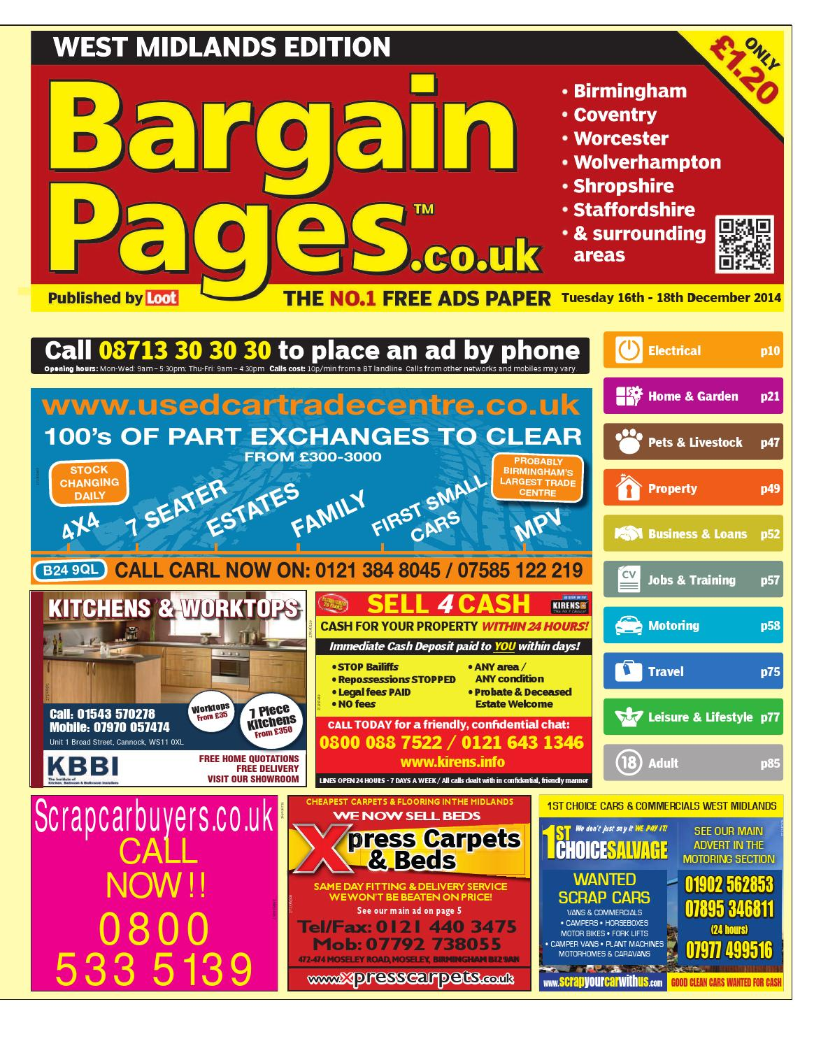 Bargain Pages West Midlands a1c9b25d8d2ce