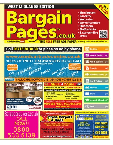 timeless design 0fc92 b2b7b Bargain Pages West Midlands, December 16th 2014 by Loot - issuu