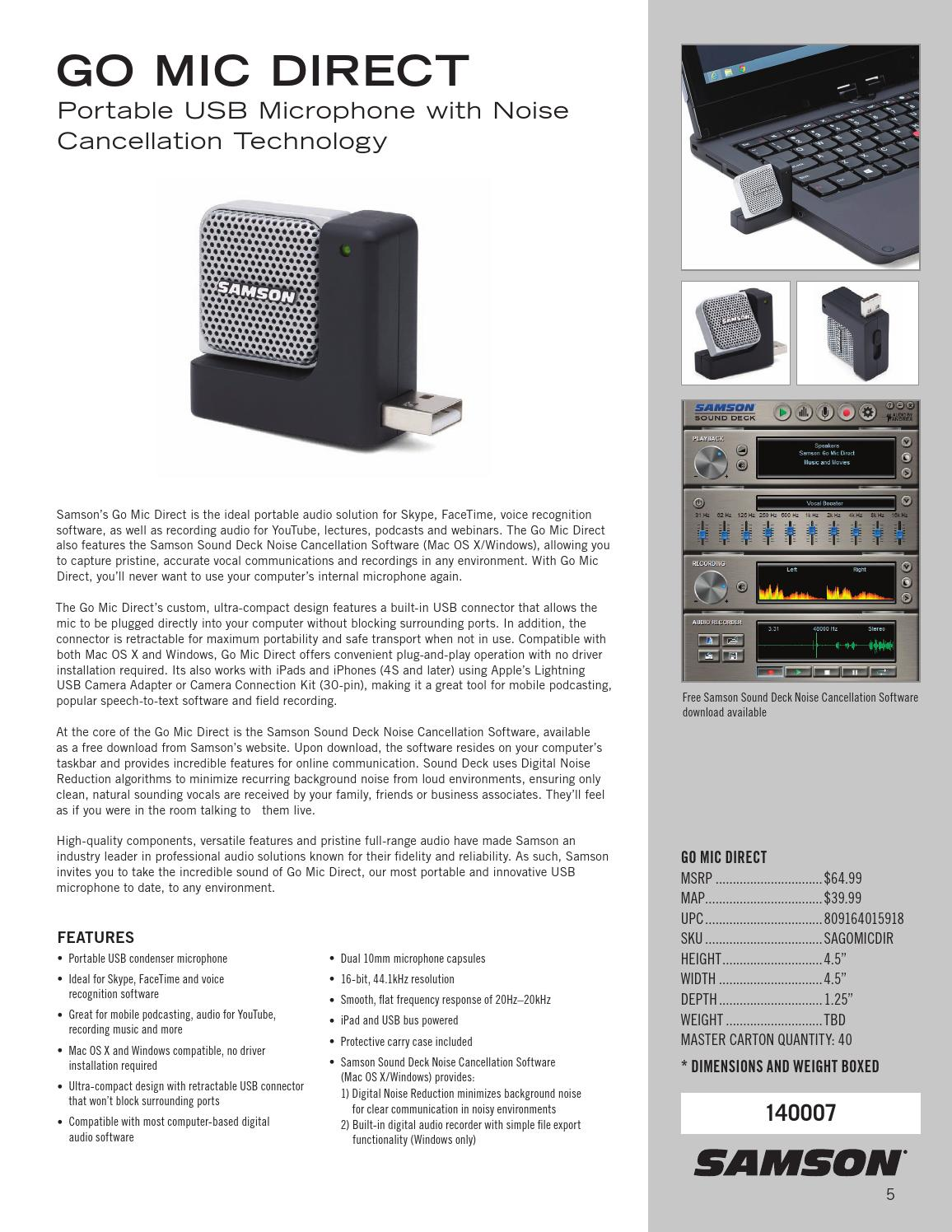 Samson Technologies Catalog by Hal Leonard - issuu