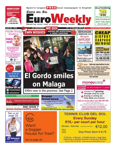 Euro Weekly News - Costa del Sol 25 - 31 December 2014 Issue 1538 by ... e3f370bf5f