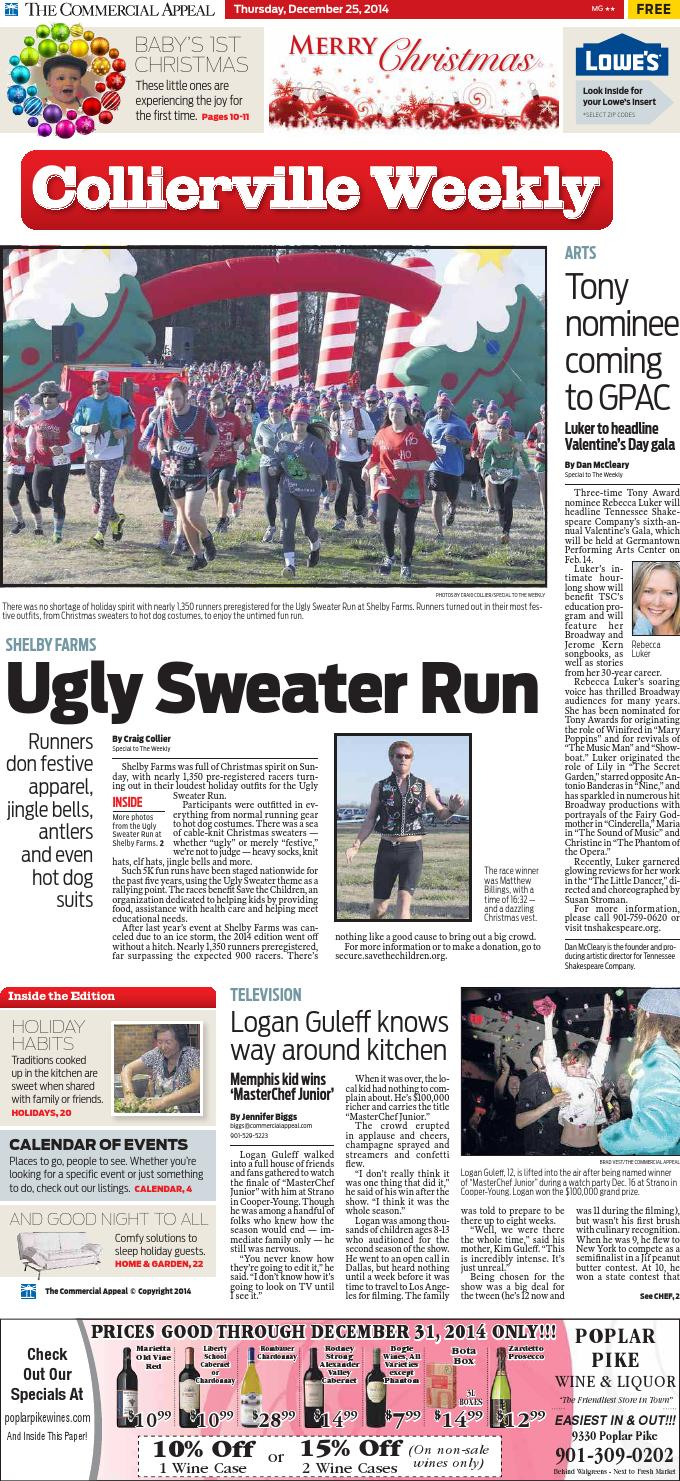 dec 25 collierville weekly by special publications from the