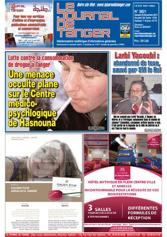 9b87ed1e0 Journal de Tanger 29 novembre 2014 by Le Journal de Tanger - issuu