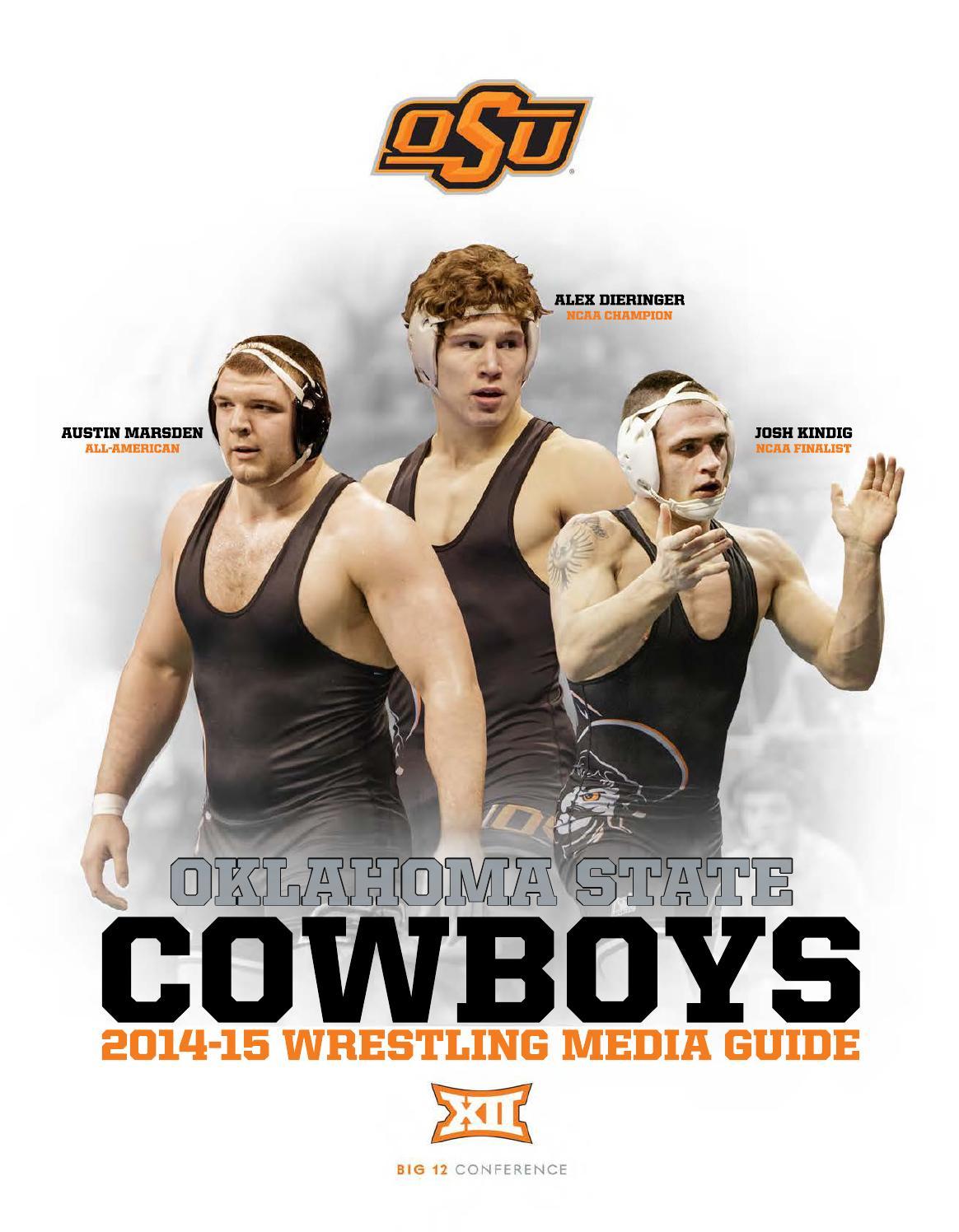 2014-15 Cowboy Wrestling Media Guide