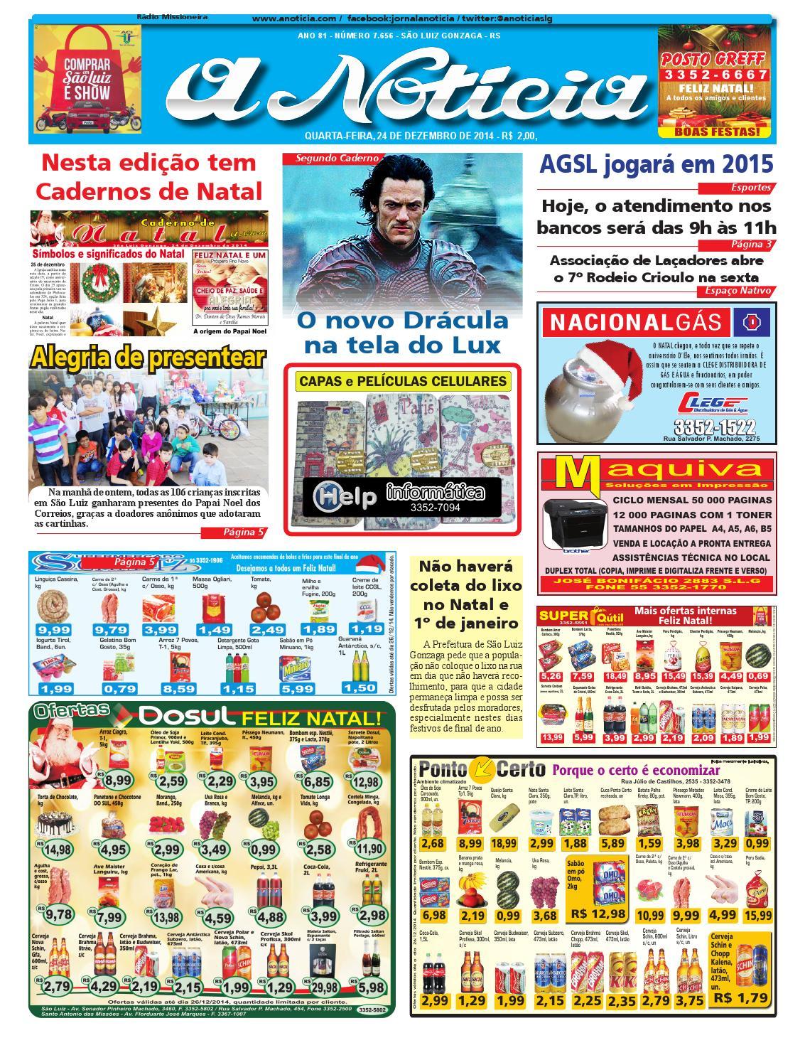 11a2aa88dc Edição do dia 24 de Dezembro de 2014 by Jornal A Notícia - issuu