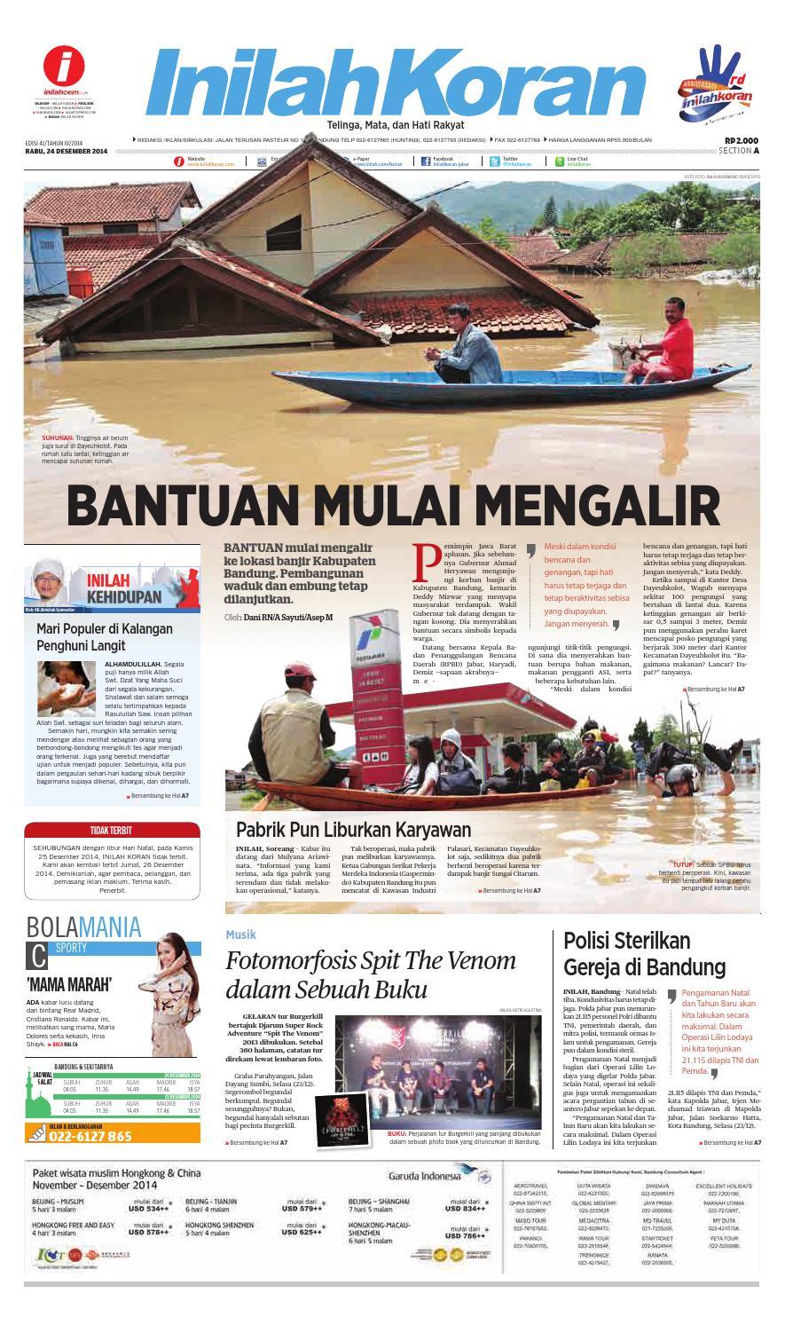 Bantuan Mulai Mengalir By Inilah Koran Issuu Strong Kangen Water Ph 115 Ukuran 1000 Ml Terapi Air Kelas Dunia Indonesia