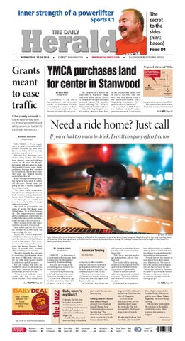Everett Daily Herald, December 24, 2014 by Sound Publishing