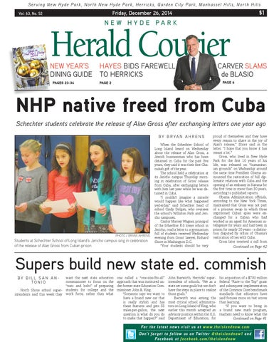 New Hyde Park Herald Courier 12.26.14