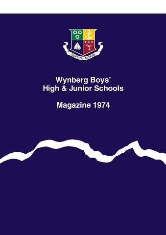 e12e6375df Wynberg Boys  Schools Magazine 1974 by Wynberg Boys  High School - issuu