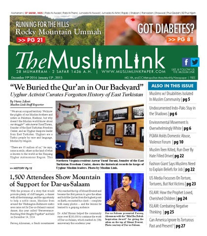 Enabledmuslim New Project Supporting >> The Muslim Link December 19 2014 By The Muslim Link Issuu