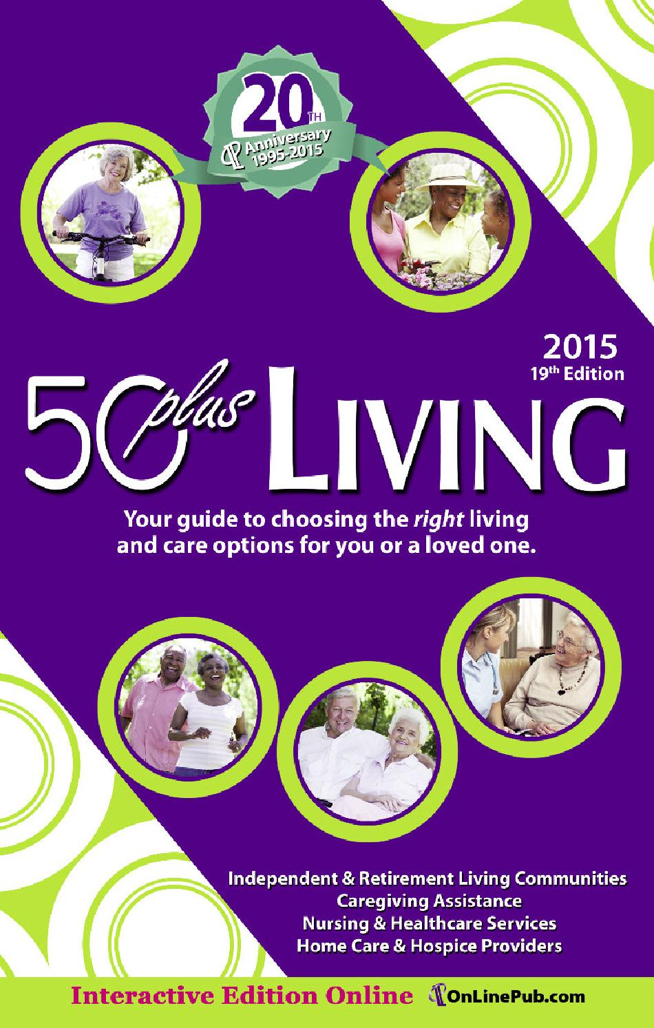50plus Living 2015 by On-Line Publishers, Inc  - issuu