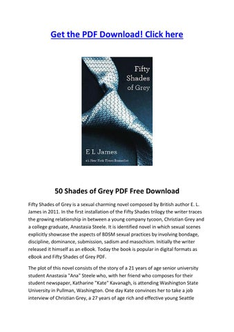 fifty shades of grey el james pdf free
