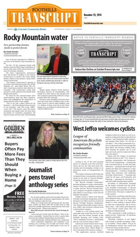 Foothills Transcript 1225 By Colorado Community Media   Issuu