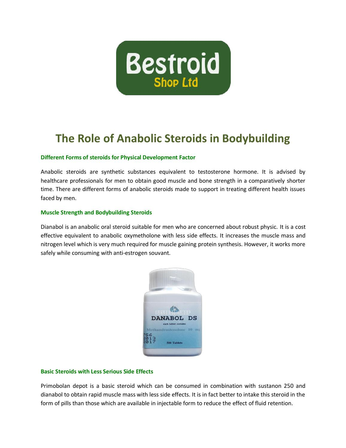 what is the most powerful form of anabolic steroid