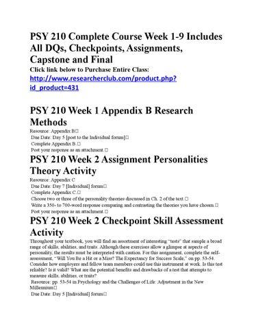 appendix f psy 210 Home essays psy 210 appendix d psy 210 appendix d  topics: self-esteem  appendix f-psy 210 essay.
