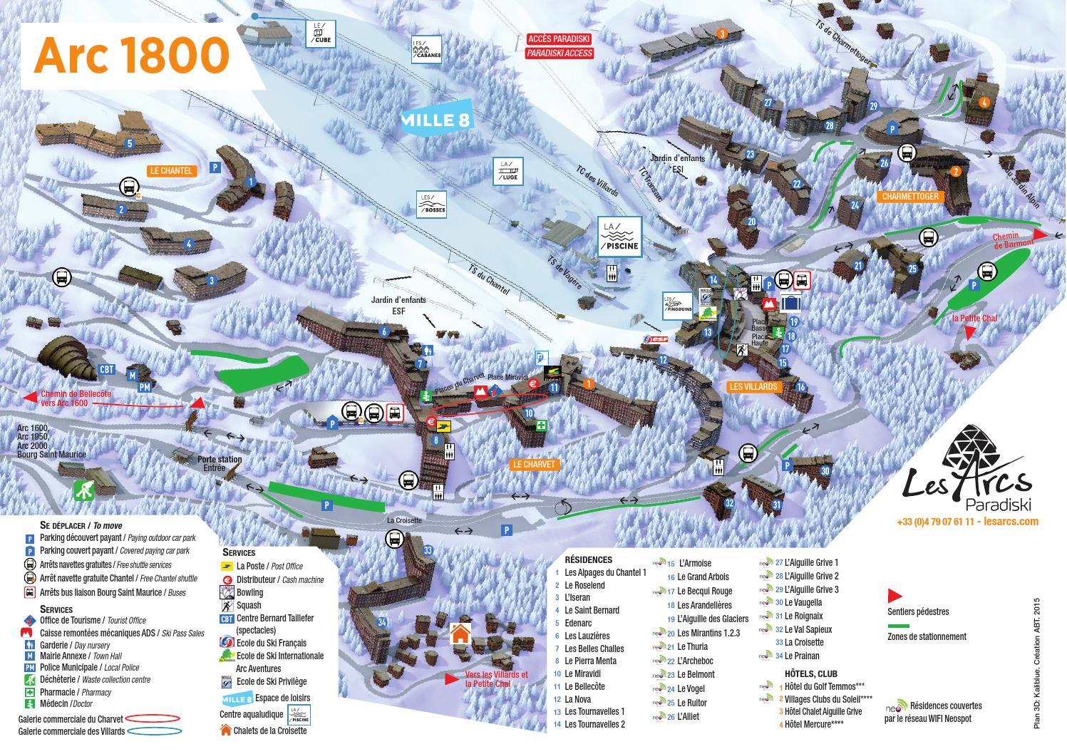 plan 1800 hiver 2015 by bourg saint maurice les arcs issuu