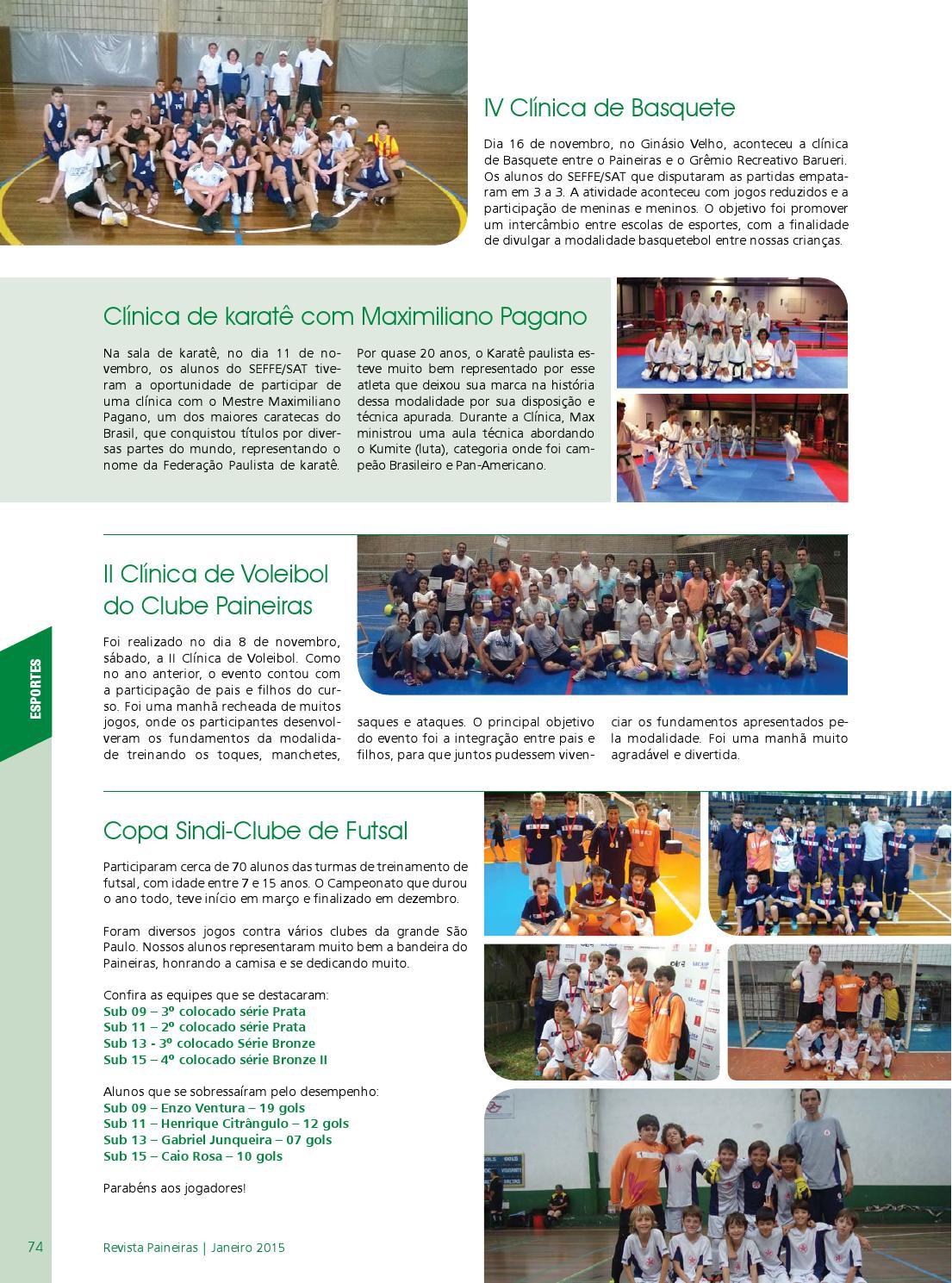 Revista Paineiras - Janeiro 2015 by Clube Paineiras do Morumby - issuu 00ce0c16f8e5c