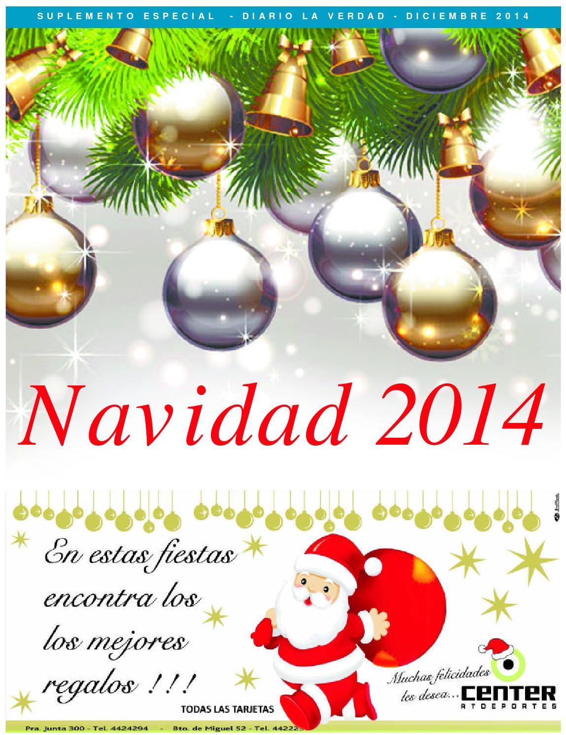 Suplemento de Navidad by Diario La Verdad - issuu