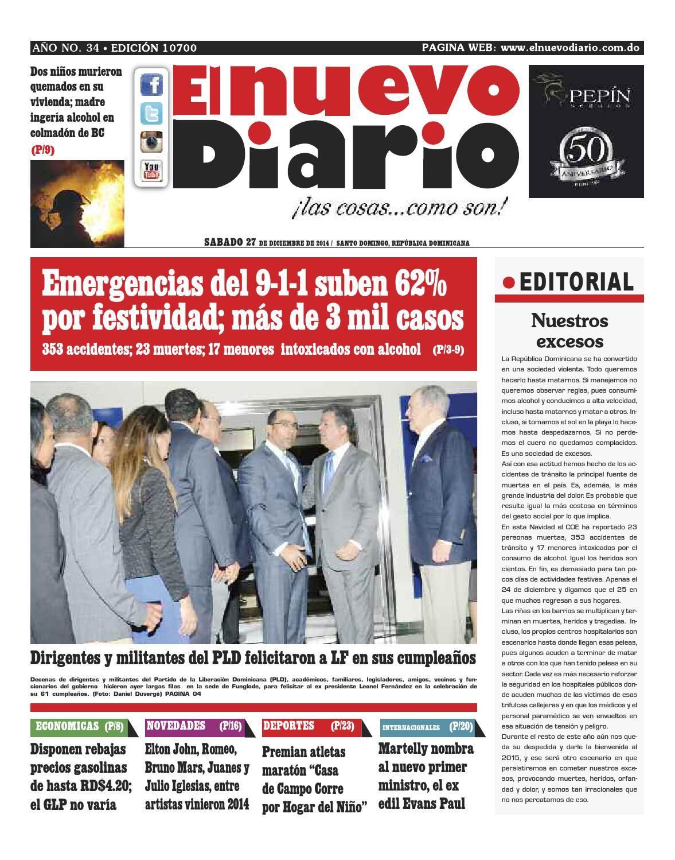 53526fa824 El Nuevo Diario by El Nuevo Diario - issuu