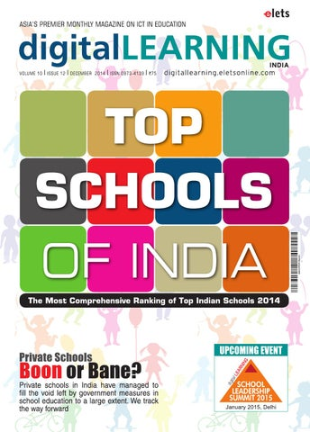 Dl December 2014 By Digital Learning Magazine Elets Technomedia