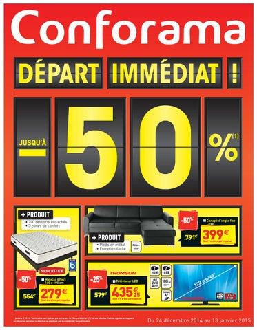 Conforama Catalogue 24decembre 13janvier2014 By Promocatalogues Com