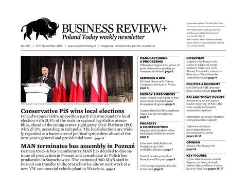 Poland Today Business Review+ No  61