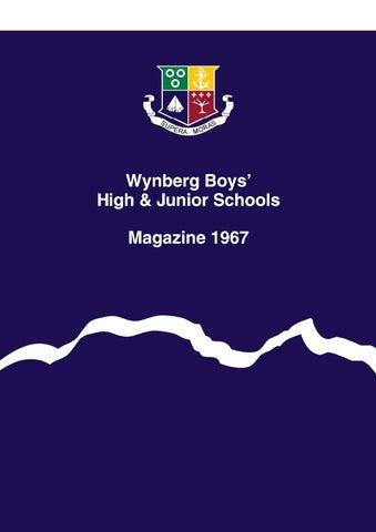 ba88266bd79 Wynberg Boys  Schools Magazine 1967 by Wynberg Boys  High School - issuu