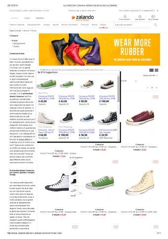 Page 1. 28 12 2014. La collezione Converse donna in promozione su Zalando eaf086eb8f4