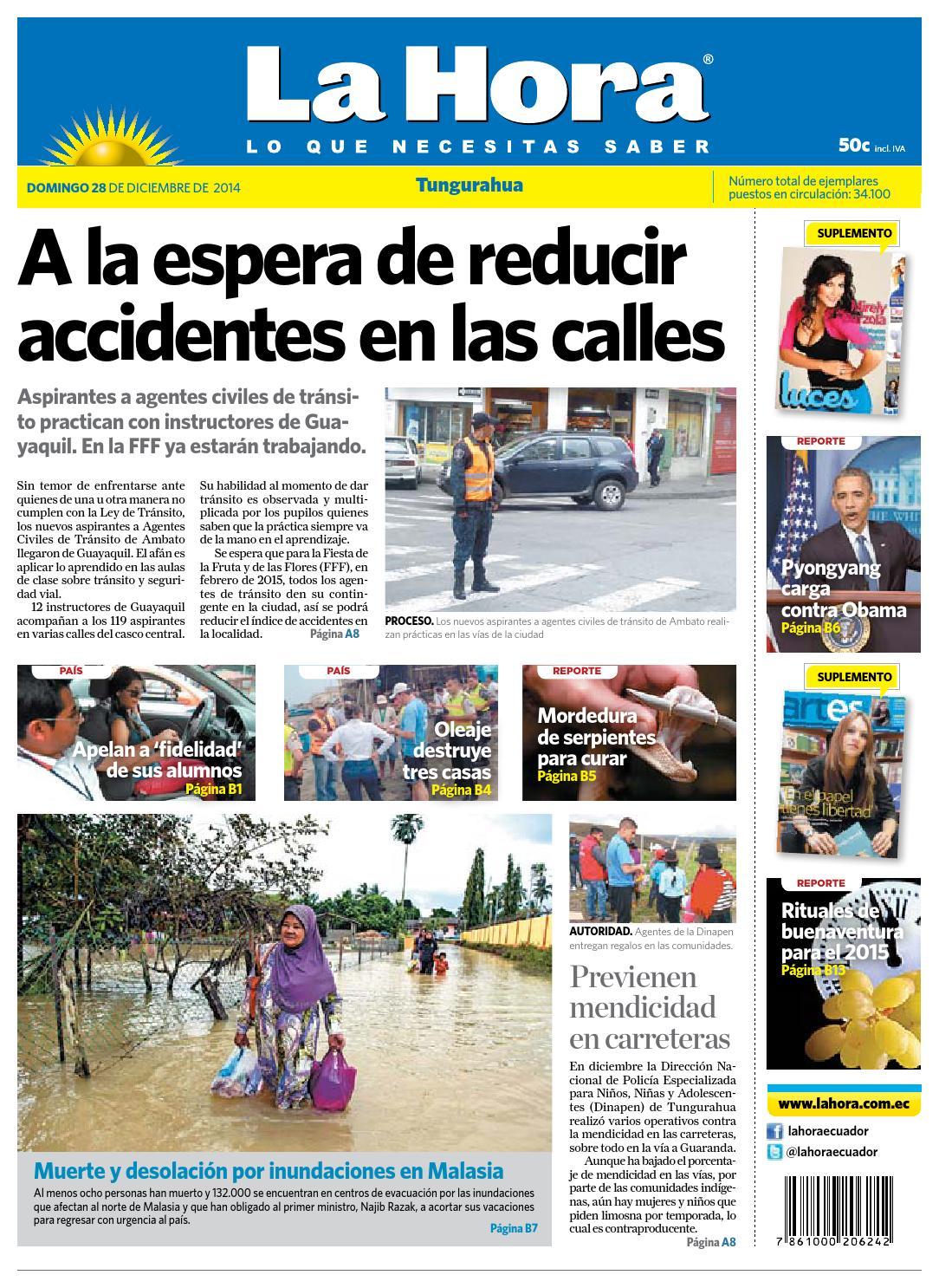 aed0818d9193 Ambato28de diciembre2014 by Diario La Hora Ecuador - issuu