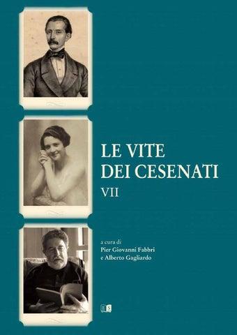 7ace2b0d6f Le Vite dei Cesenati - Volume VII by Le Vite Dei Cesenati - issuu
