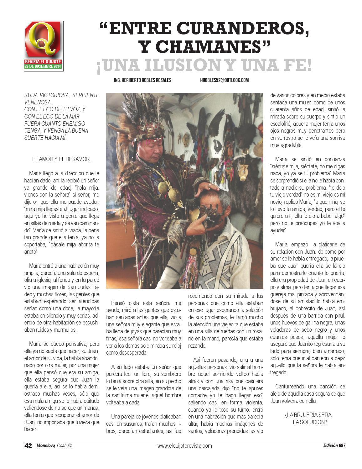 Revista El Quijote by El Quijote - issuu