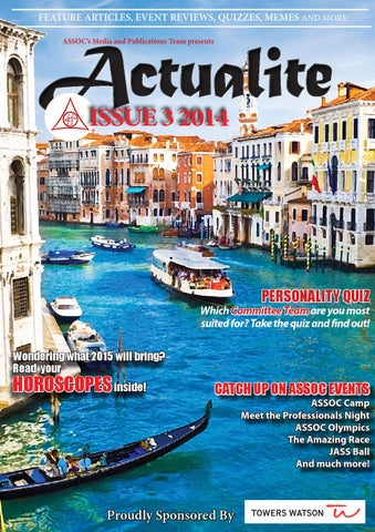 Actualite 2014 Issue 3 by MQ ASSOC - issuu