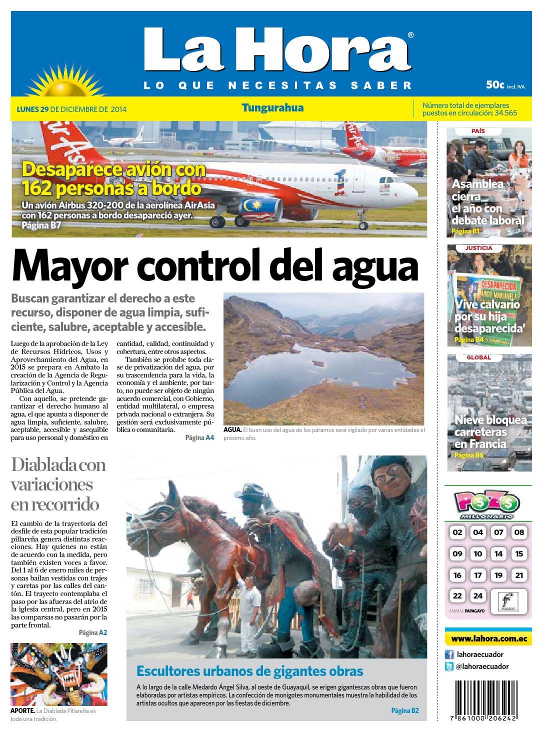 Ambato29dediciembre2014 by Diario La Hora Ecuador - issuu