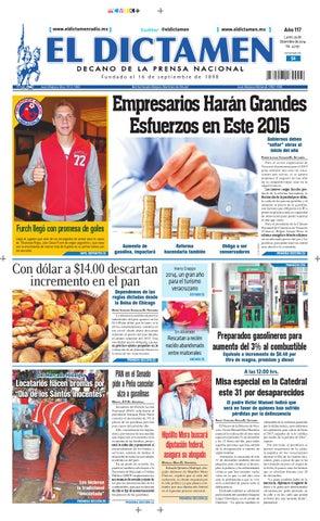 El Dictamen 29 de Diciembre de 2014 by El Dictamen - issuu