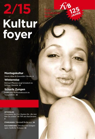 Fvb Kulturfoyer 022015 By Freievolksbühneberlin Issuu