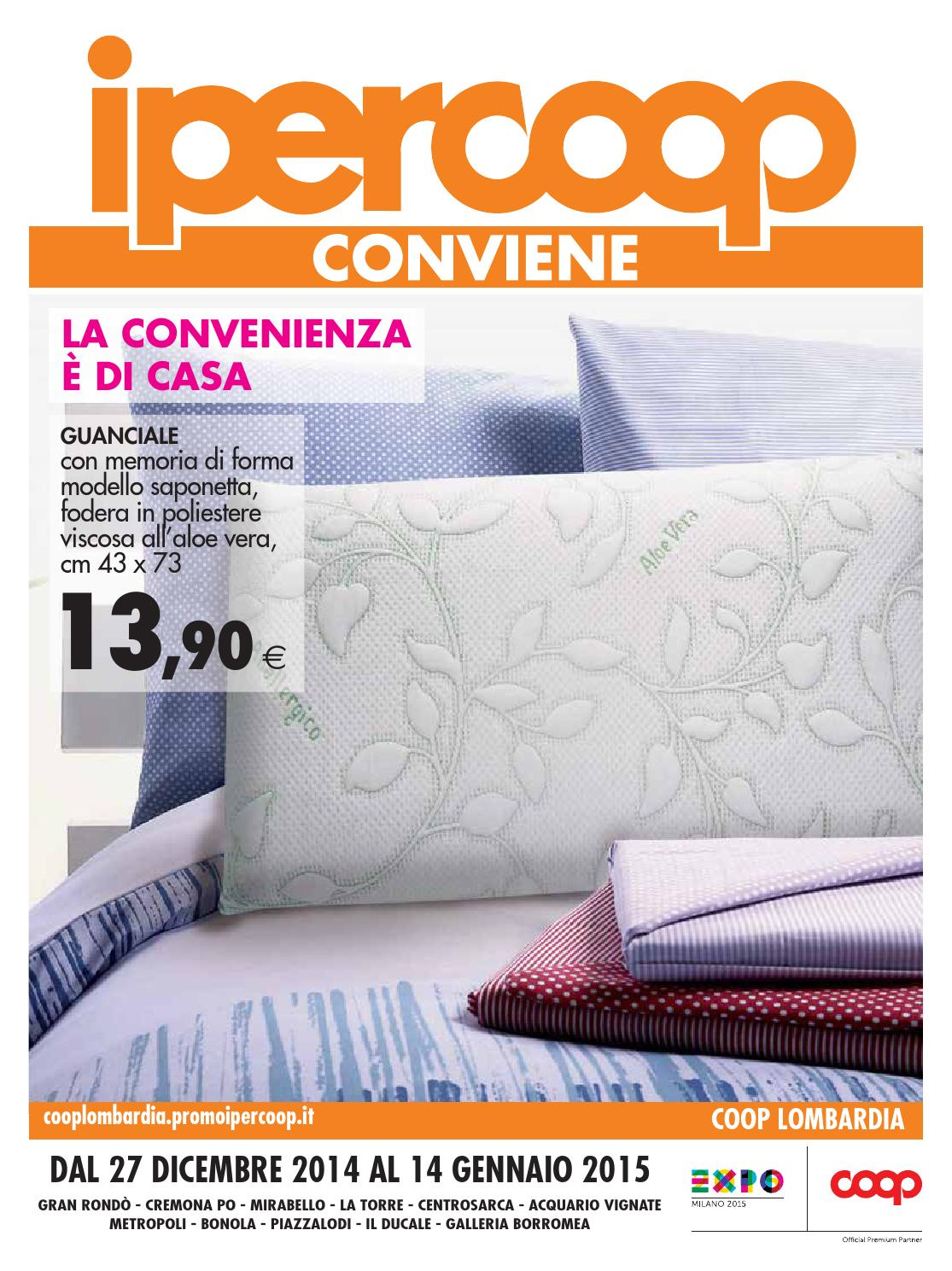 Materasso Memory Offerta Coop.Ipercoop Lombardia 10 2 By E Offerte Com Issuu