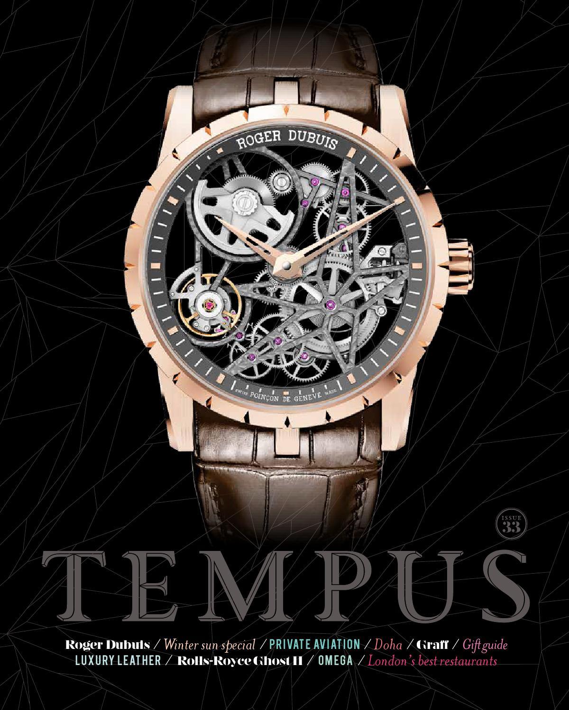 23144b39b8b Tempus issue 33 by Tempus Magazine - issuu