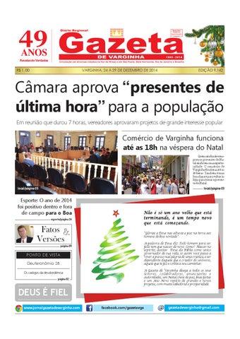 Gazeta de Varginha - 24 12 a 29 12 2014 by Gazeta de Varginha - issuu 6c34424249