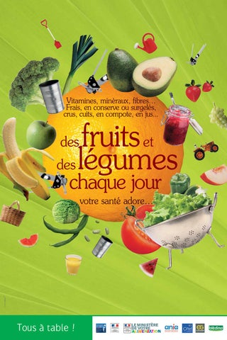 Dgcs Pai 2015 Affiche Fruits Legum By Ministeres Sociaux Issuu