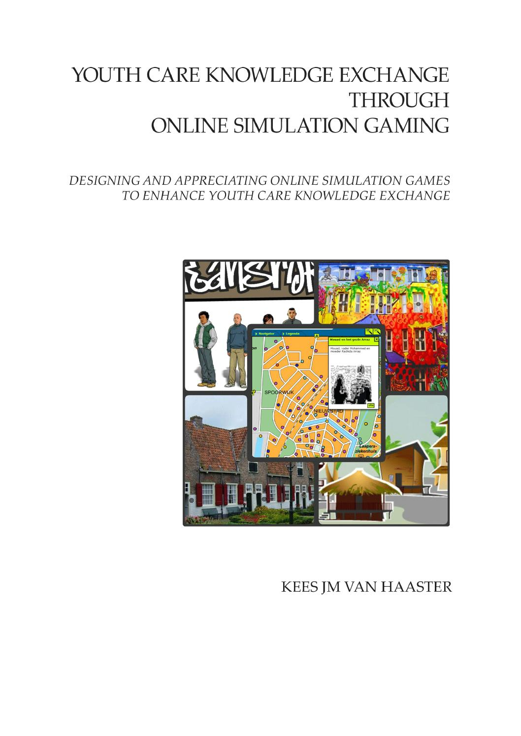 Youth Care Knowledge Exchange Through Simulation Gaming By Kees