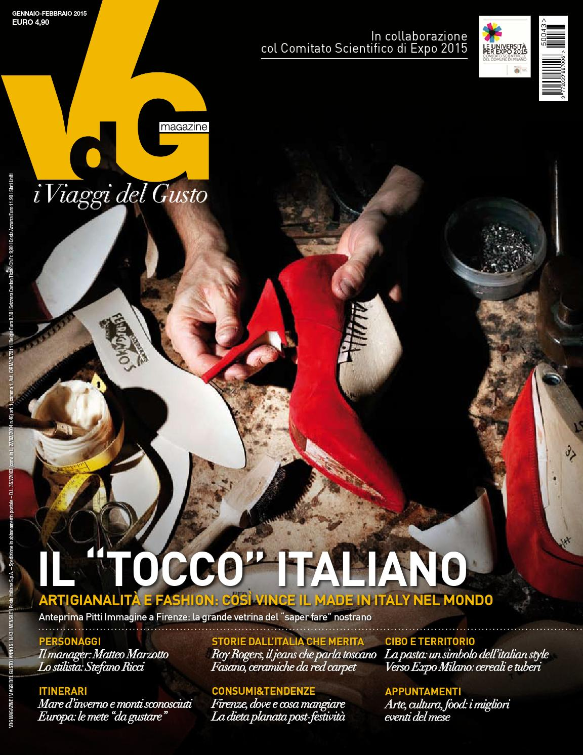 VdG i Viaggi del Gusto - Gennaio Febbraio 2015 by vdgmagazine - issuu 6ca75c9a5205