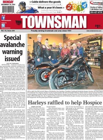 Cranbrook Daily Townsman December 18 2014 by Black Press Media