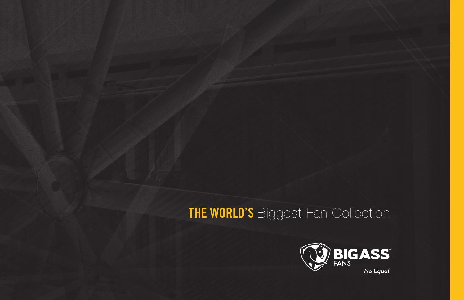 Product Brochure By Big Ass Solutions Issuu Haiku Ceiling Fan Fans