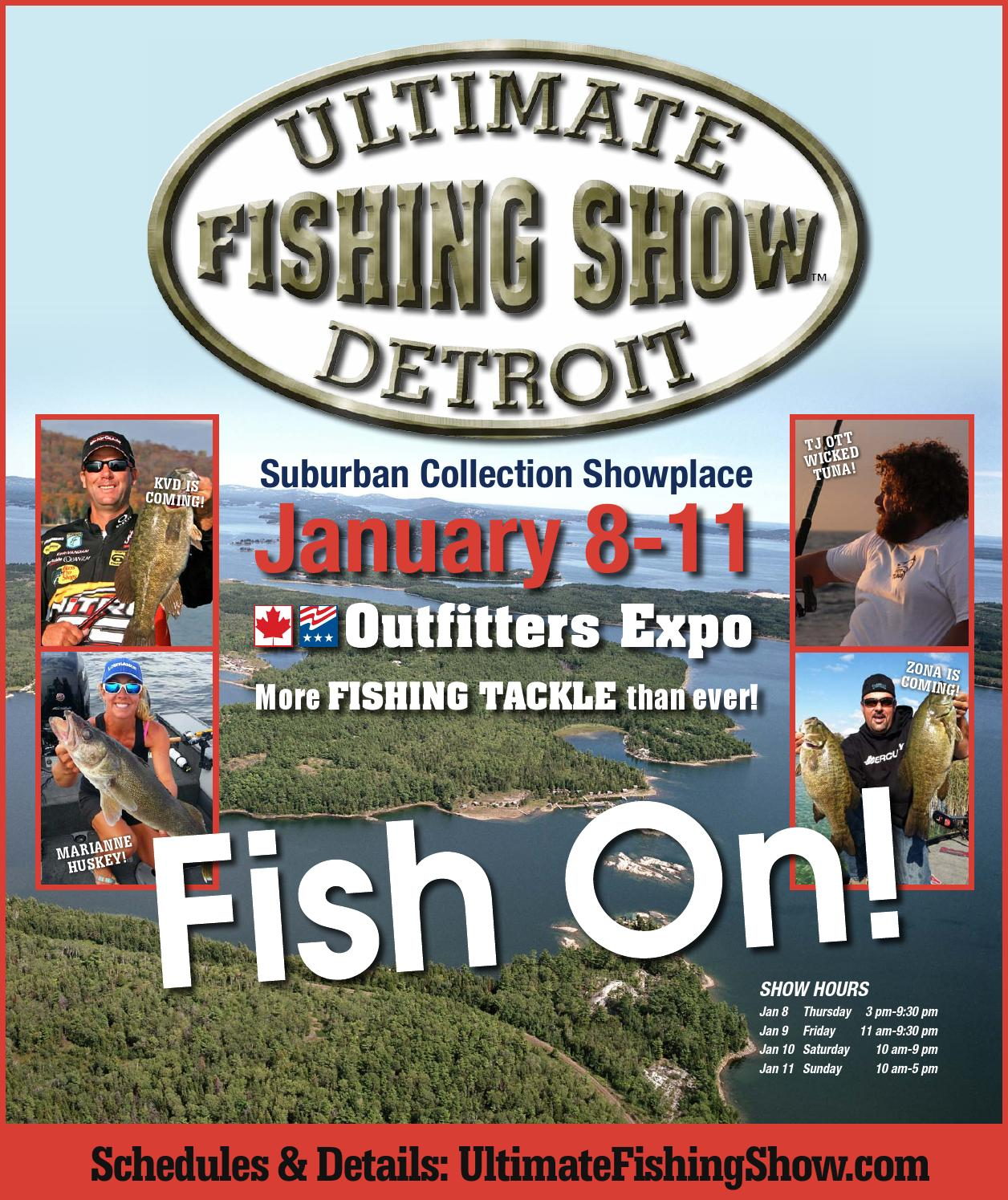2015 Ultimate Fishing Show - Detroit Program by ShowSpan