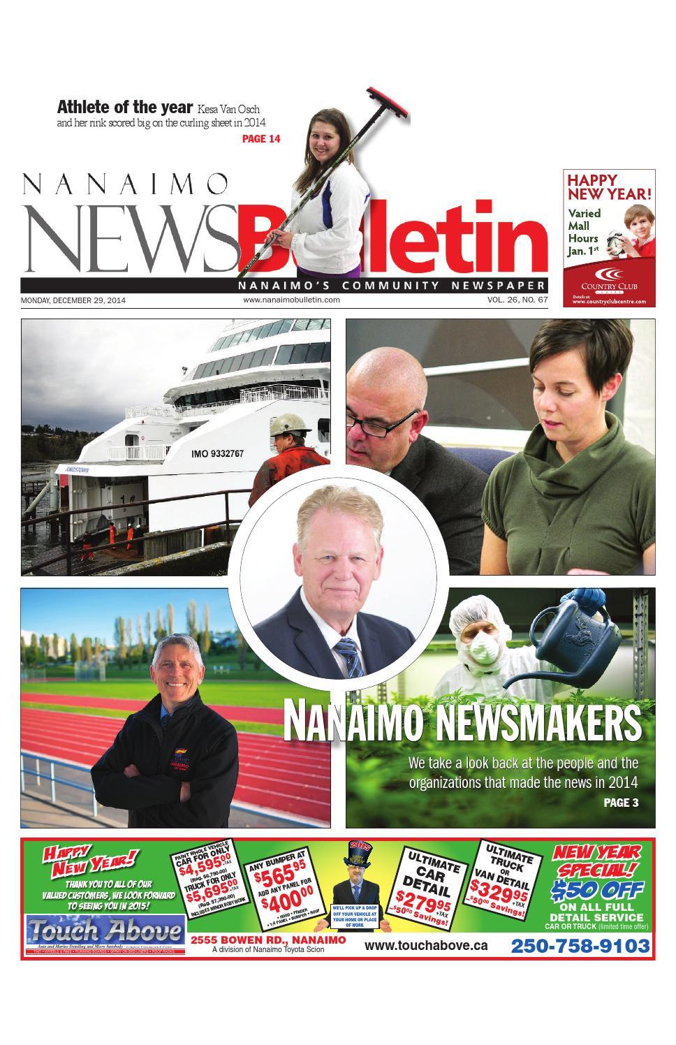 Nanaimo News Bulletin December 29 2014 By Black Press