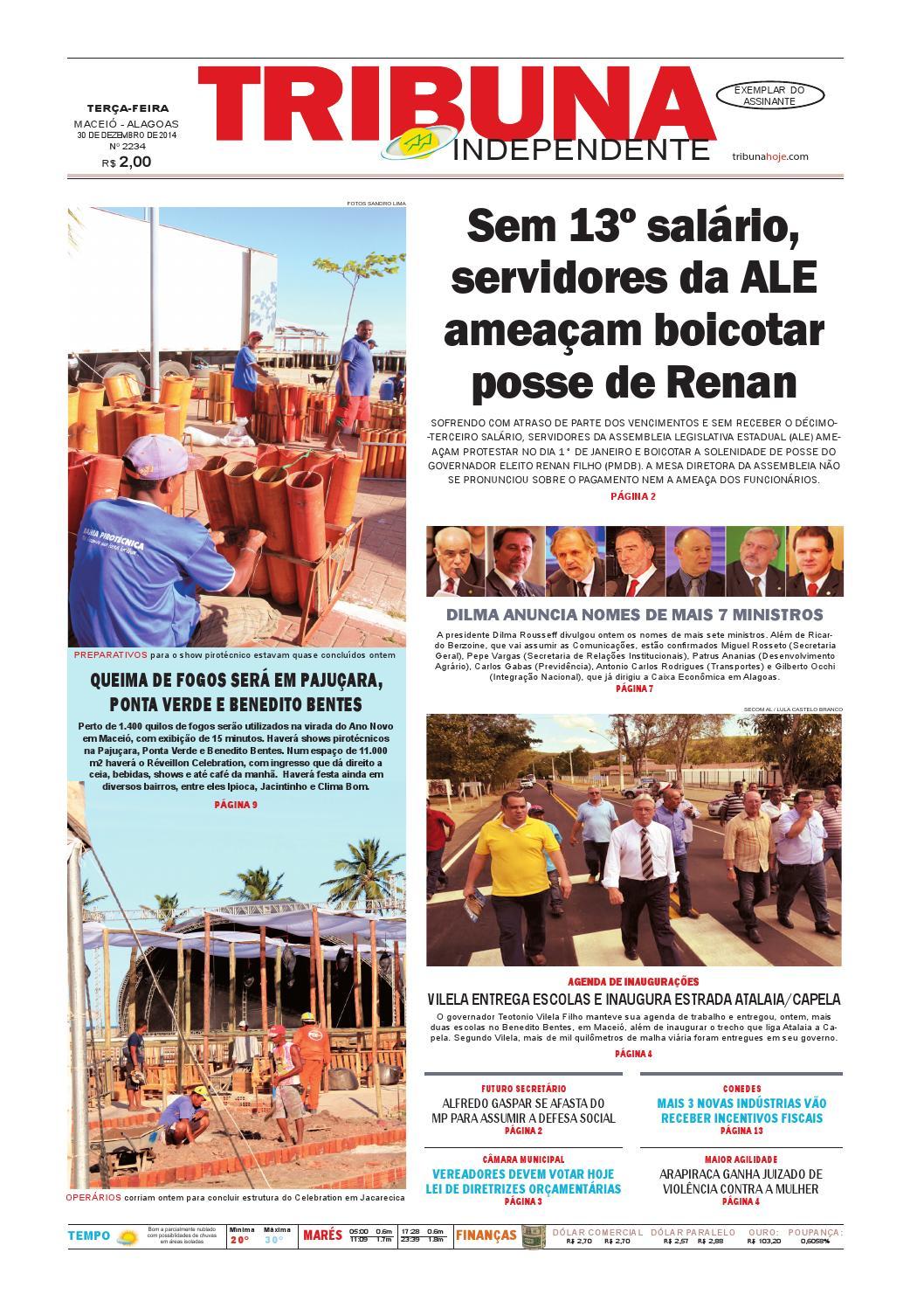 abe0c081bdc8a Edição número 2234 - 30 de dezembro de 2014 by Tribuna Hoje - issuu