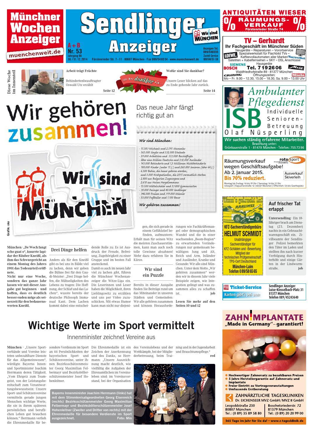 KW 01-2015 by Wochenanzeiger Medien GmbH - issuu