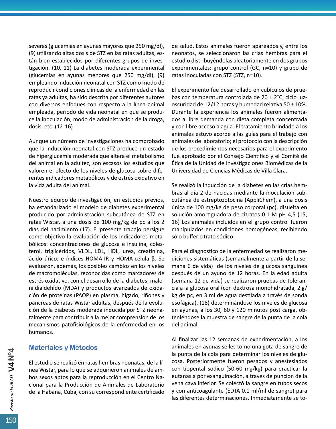 diabetes inducida por mecanismo de estreptozotocina en ratones